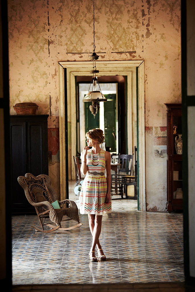 Advertising shoot for Anthropologie in Mexico