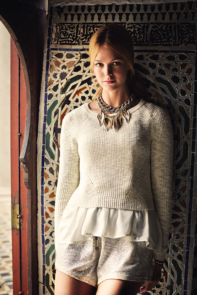 Advertising shooting for Anthropologie in Tangier