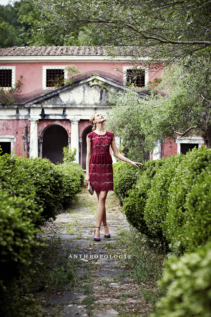 Shooting for Anthropologie in Tuscany