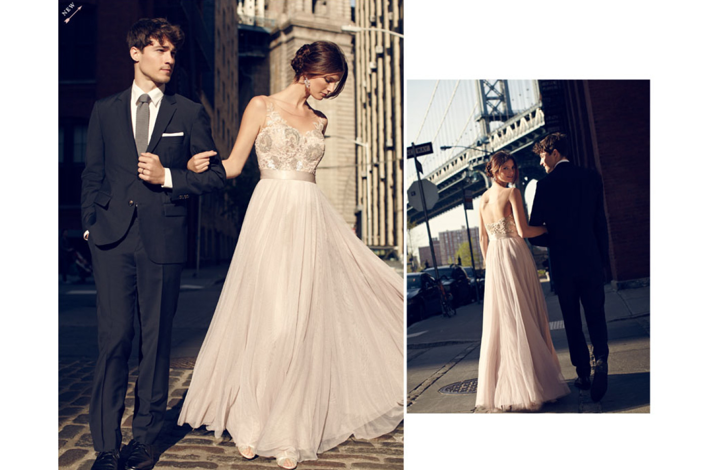 Shooting for BHLDN in New York City and Brooklyn