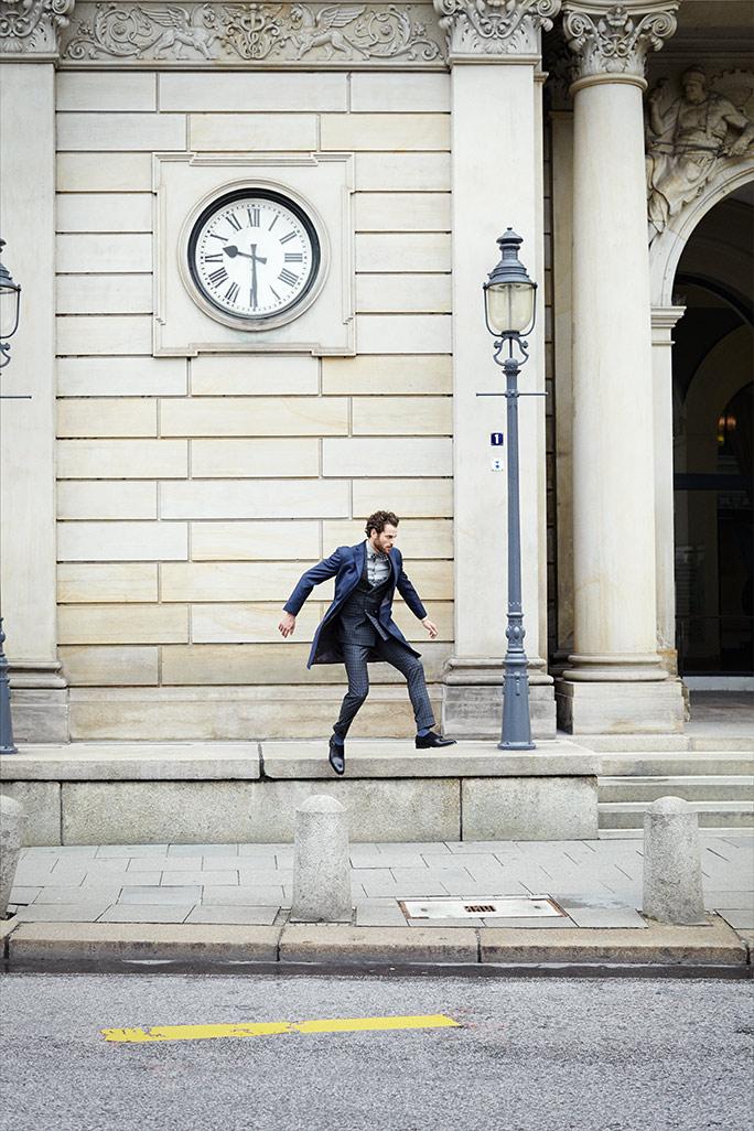 Shooting Lewin Man Jumping