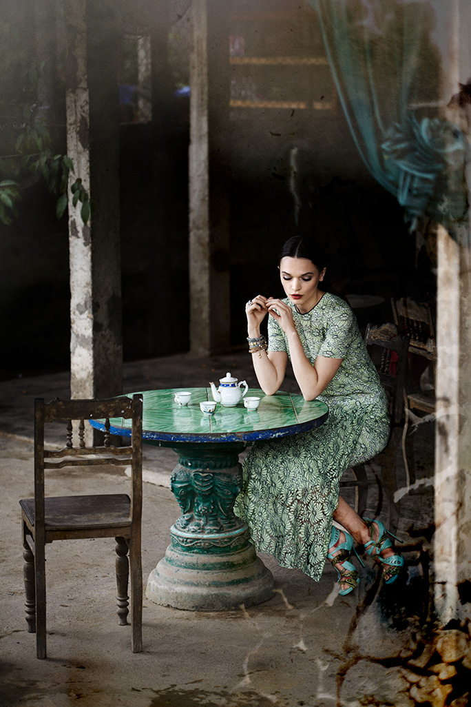 Shooting for Condé Nast Traveller U.K. in Vietnam