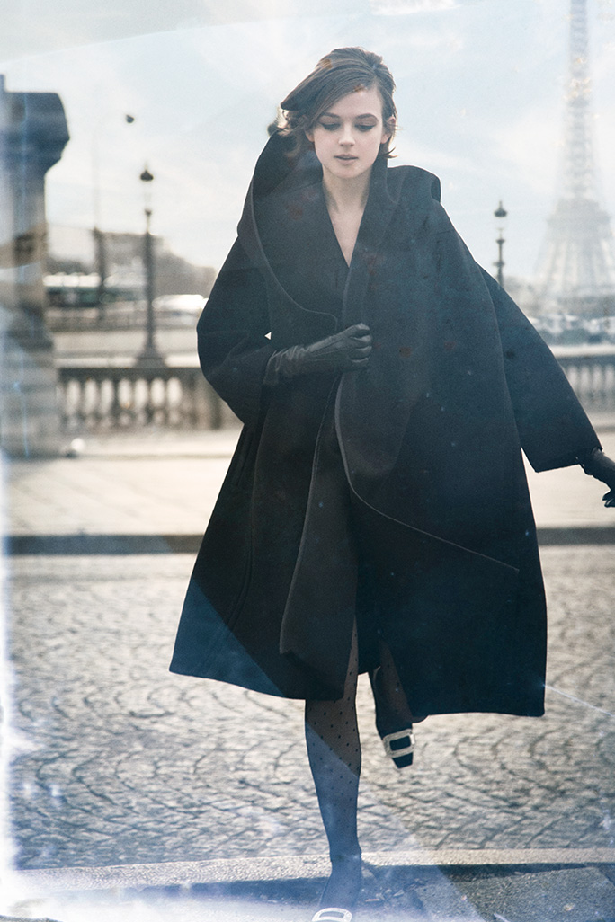 Shooting for Town & Country in Paris, France